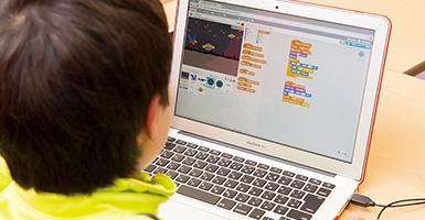 <体験授業された方の声>小学5年生 T.Sくん「ゲーム&アプリプログラミングコース」