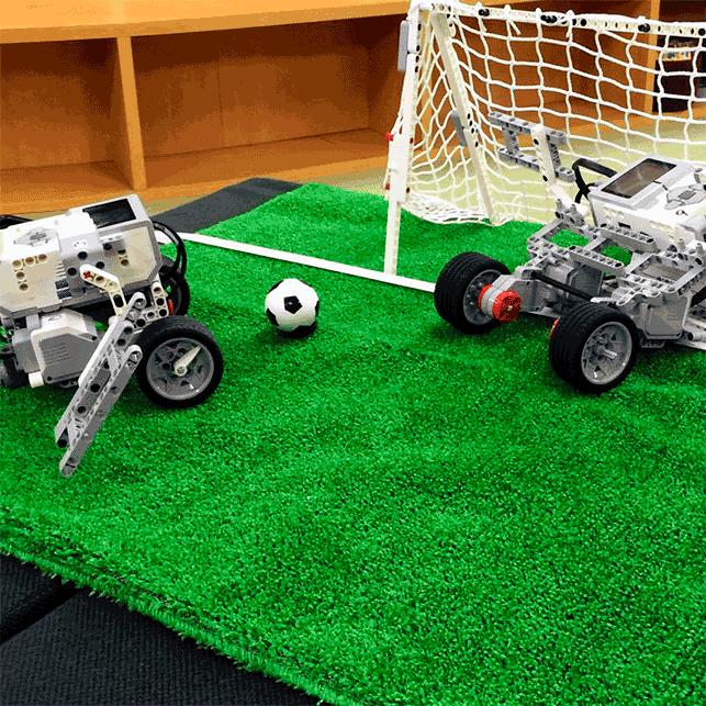 03.みんなでロボットサッカー
