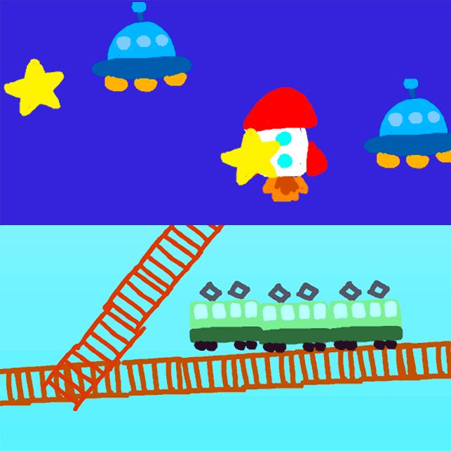 06.描いて遊べる!5歳からのお絵描きプログラミング