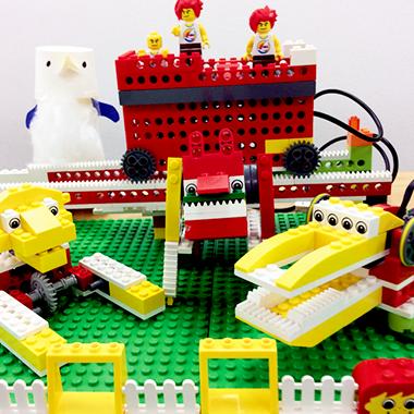 04.みんなで動物園をつくろう!はじめてのロボットづくりとプログラミング