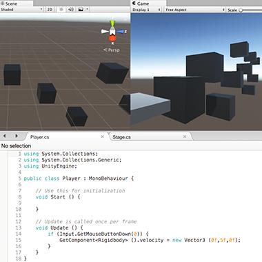 02.Unityで3Dゲーム開発にチャレンジ!