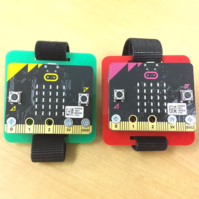8. BBC micro:bitでつくる ウェアラブル・コンピュータ(レベル高)