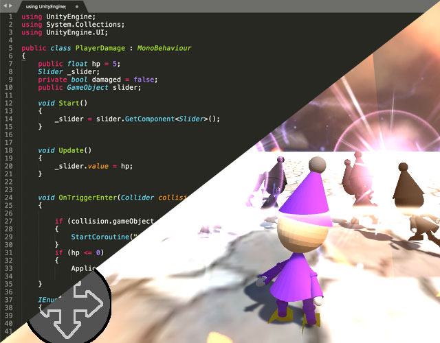 3.【2DAYS】Unity3Dゲーム制作パワーアップコース
