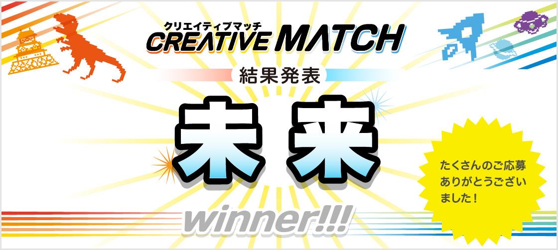 【結果発表】Creative Matchの受賞者が決定!バブルが多かったテーマは?