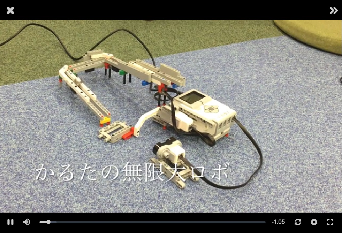 Creatubbles賞:「無限大ロボ」 by カルタ0208