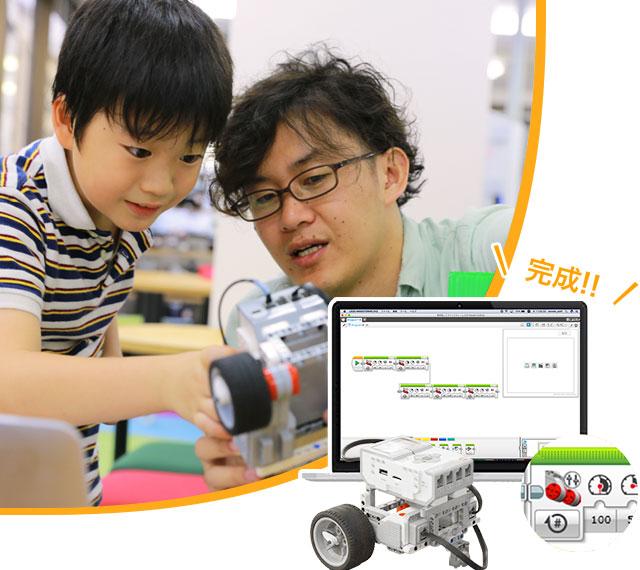 【ロボットテクニカルコース】ロボット製作とプログラミングでミッションに挑戦