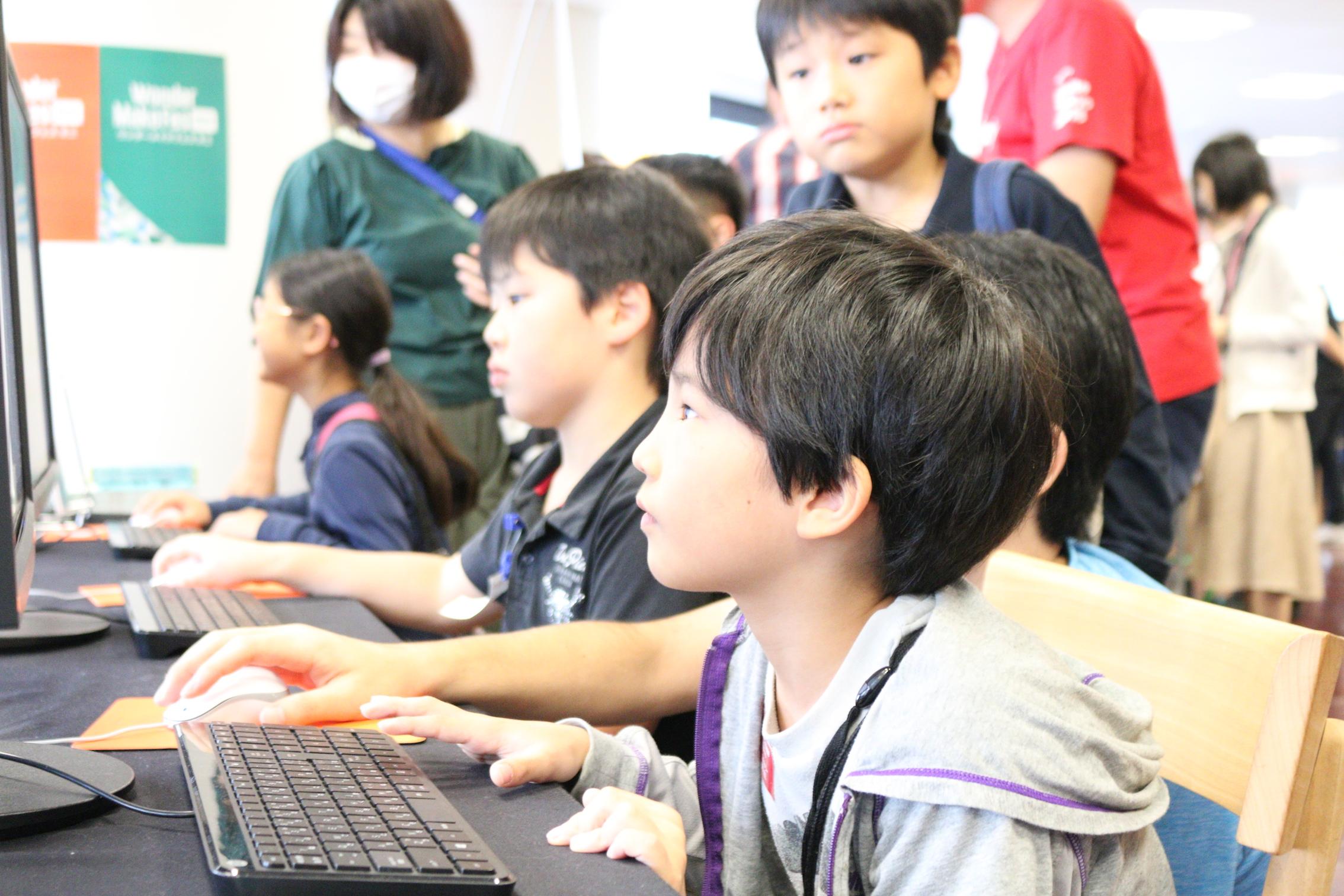 Unityのゲームに触れよう!ユニティ・テクノロジーズ・ジャパン!