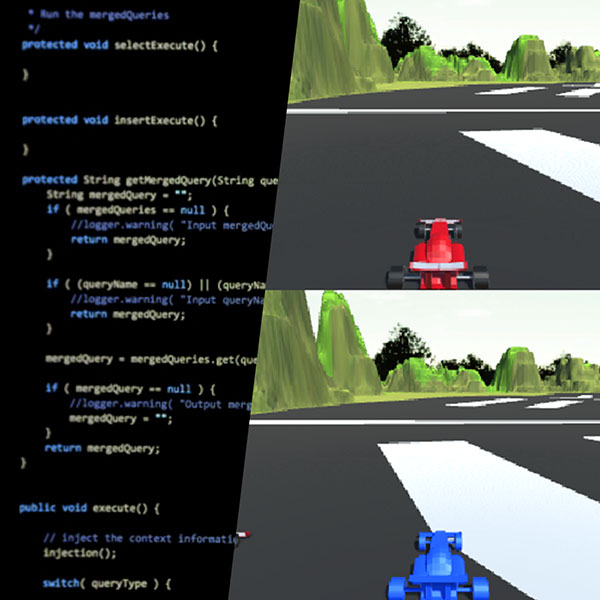 3Dモデリング×Unity開発 チャレンジコース  レースゲームをつくろう!