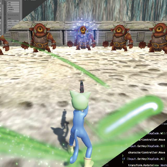 3Dモデリング×Unity開発本格3Dシューティングゲームをつくろう