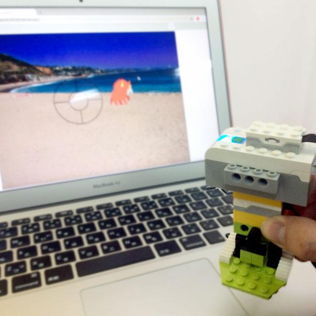 プログラミング×ロボットセンサーでガンシューティングをつくろう!