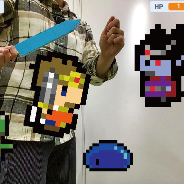 ScratchでAR風バトルゲームをつくろう!