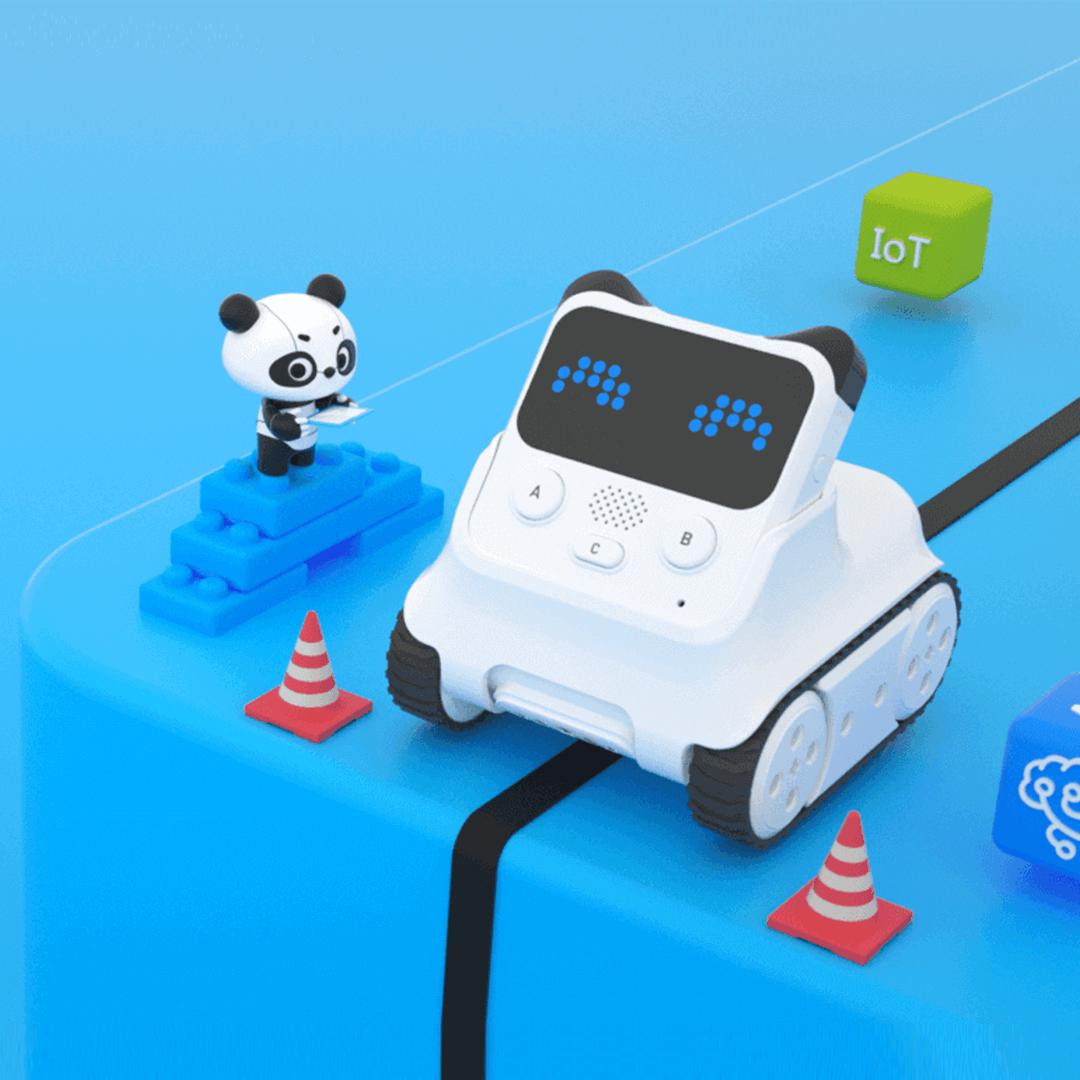 3.AI搭載の最新ロボットでプログラミングに挑戦!