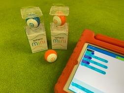 【通塾生以外もOK】ボール型ロボットでプログラミングをつかってバトルしよう!ロボットお持ち帰りコース