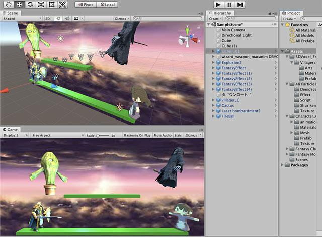 8.Unityで3D対戦格闘ゲームをつくろう