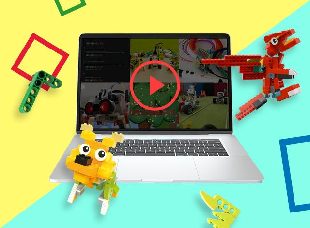 動画で学ぶ!ロボットづくり&プログラミング【動画】