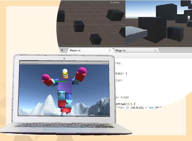 【短期パッケージ】Unityで3Dモデル制作+3Dゲーム開発コース