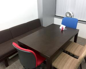 面談や相談する際に使う個室です。
