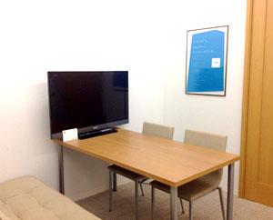 個室は、就労するために必要な面談や面接練習などで使用します。