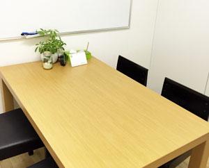 就労するために必要な面談や面接練習などで使用する個室です。