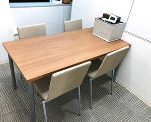 面談室は、面談や面接練習で使用します。