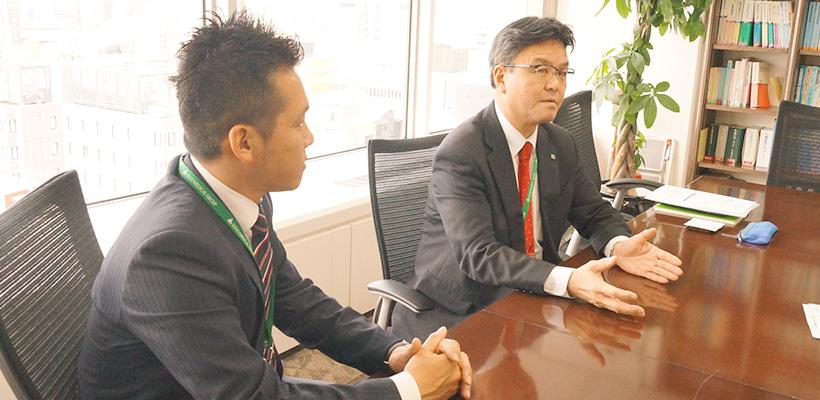 総合メディカル株式会社 松隈 様(左)・松尾 様(右)