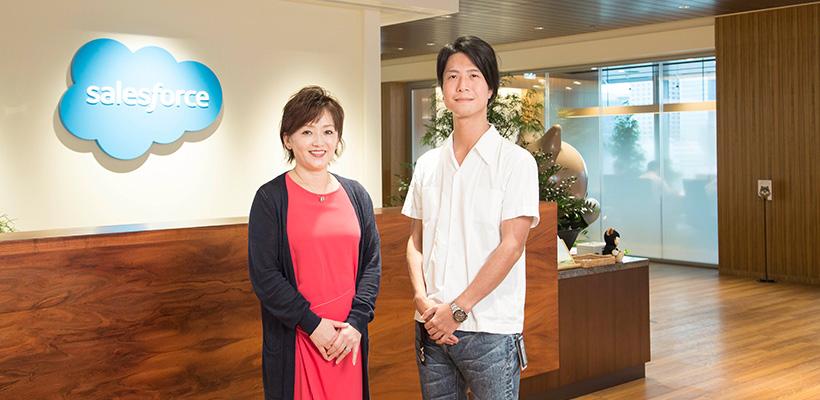人事本部 人事プログラム  シニアマネージャー 酒寄 様(左)/リクルーター 松浦 様(右)