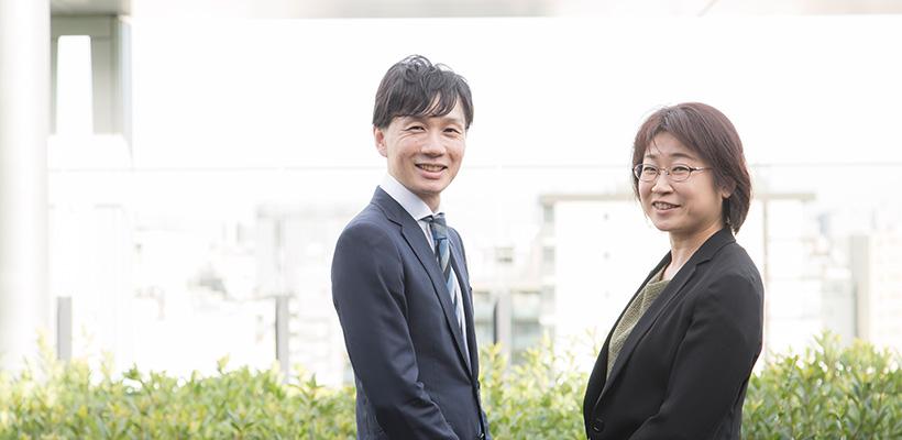 株式会社メイテックビジネスサービス 白木 様(左)/飯岡 様(右)