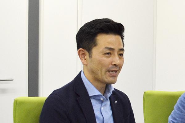 代表取締役社長 上枝さん