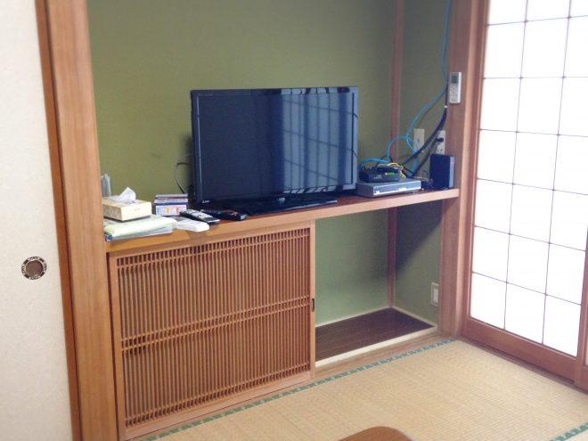 応接室と台所以外は畳のお部屋です。