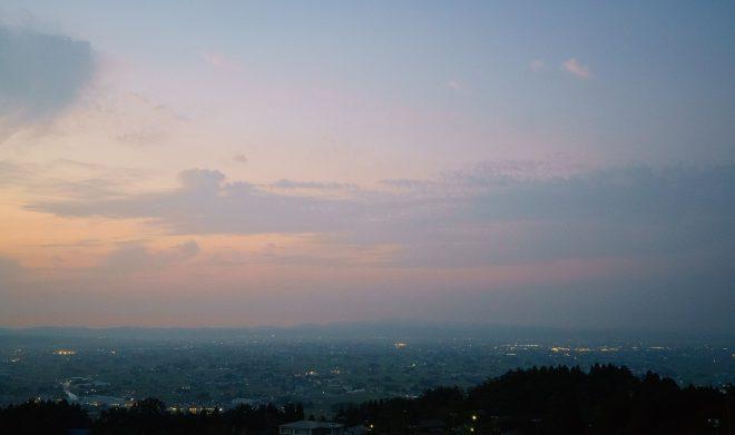08閑乗寺公園からの風景