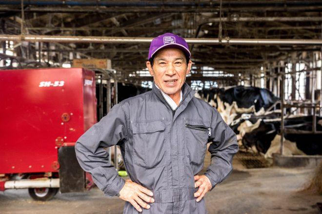 酪農場経営は、男のロマンと語る松本さん。正直かっこよかった。。