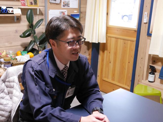 西海市役所・政策企画課の山川さん