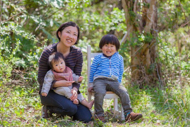 仕事と子育てを楽しんでいる藤井美津子さん