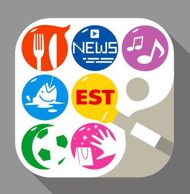 edesign213さんの提案 - 趣味情報収集iPhoneアプリ「EST」のアイコン作成 - クラウドソーシング「ランサーズ」 2014-06-27 16-54-27