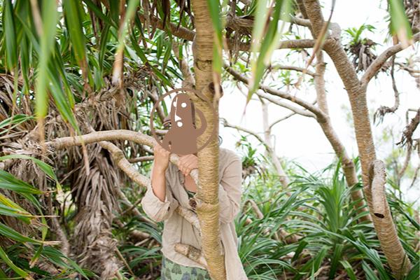 ジャングルの中の泥ぬマコさん