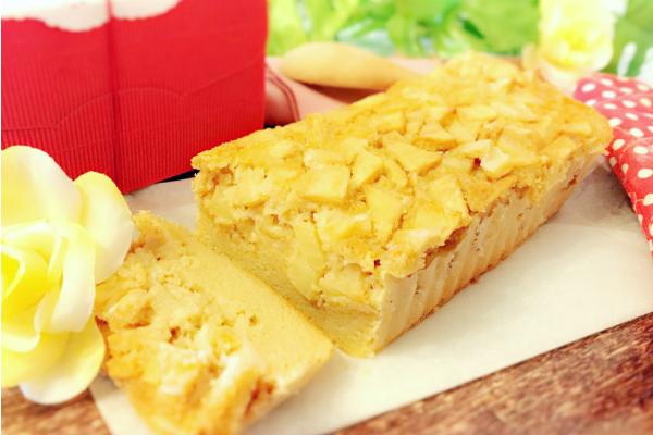 りんごパウンドケーキ 1