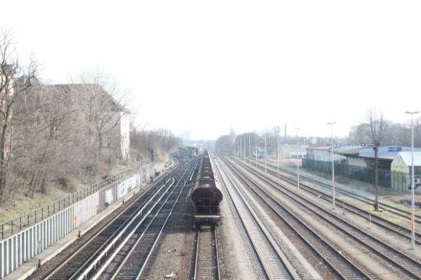 ベルリンの列車