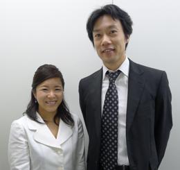 IBJ後藤と粟井さん「これからも協力体制でお互い成長していきましょう」