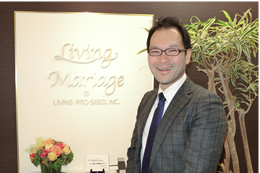 「結婚相談所は究極の接客業」と話す渡辺さん。一緒に信頼される業界を作っていきましょう!