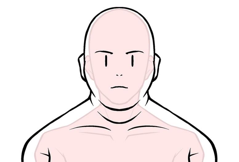 キャラクターの描き分け Step5 体型のバリエーションペンタブ練習