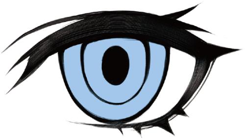 目の特徴でキャラクターの個性を描き分けるデジ絵 イラスト