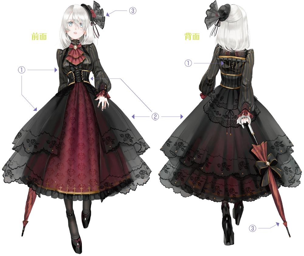 女の子コーデ☆ロリータ&ゴシックファッションの描き方を学ぼう