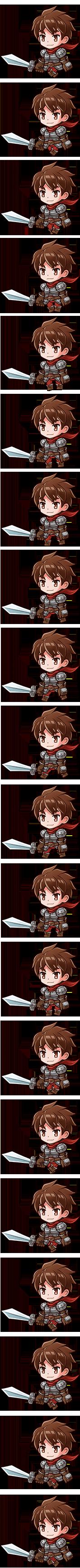 新米剣士アレックス
