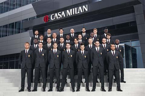 AC MILAN 2014 2015 divise Dolce&Gabbana