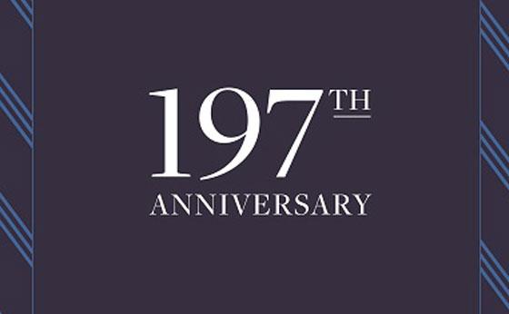 ブルックス ブラザーズが197周年アニバーサリーキャンペーンを実施