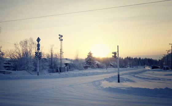 東へ! シベリアでの年末年始。