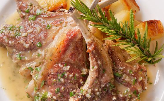 第1回:フライパンひとつで 仔羊料理の出来上がり!