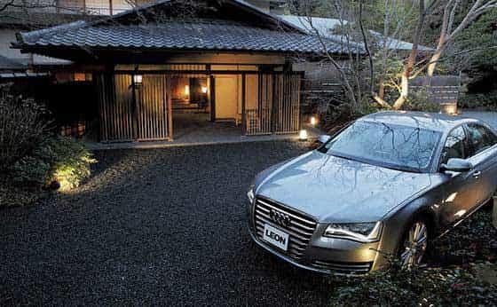 Audi A8×柳生の庄