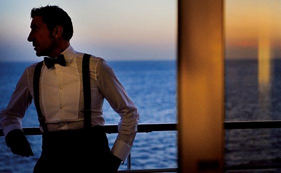 クルーズ船で映画のような旅を
