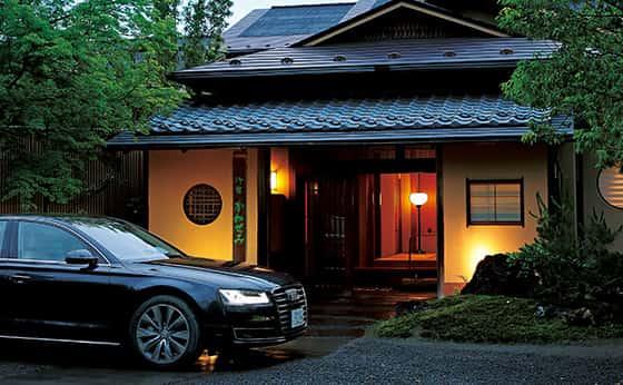 Audi A8×御宿 かわせみ